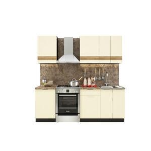 VerDesign, TARRA 160, vanilka 3D pás/wenge
