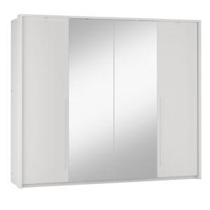 REMA  255 moderná šatníková skriňa, biela
