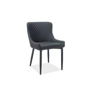 Byvajsnami SK, NOLIN jedálenská stolička, čierna