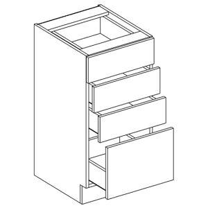 D40S4 dolná skrinka so 4 zásuvkami, vhodná ku kuchyni PREMIUM
