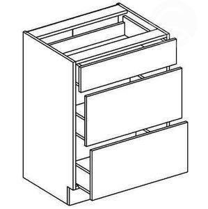 D60S3 skrinka so zásuvkami, vhodná ku kuchyni PREMIUM