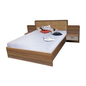 BANDI manželská posteľ so stolíkmi EF3L
