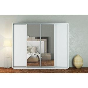 VerDesign, GOMMA 300, biela/zrkadlo