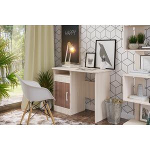 VerDesign, Praktický písací stôl MIKEL - jasan šimo