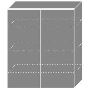 PLATINA horná skrinka W4/80, korpus biely