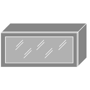 PLATINA horná skrinka W4BS/80 ALU, korpus biely